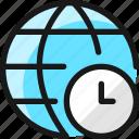 network, clock