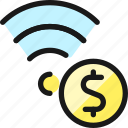 wifi, cash