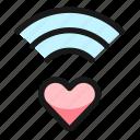 wifi, heart