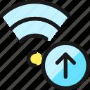 wifi, upload