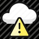 cloud, warning