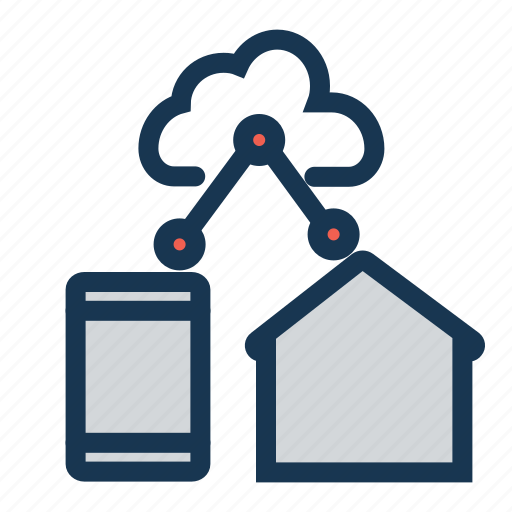 automationcloud, clientsiotinternet, cloud, homesmart, network, networkhome, of, thingssmart icon