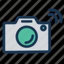cameracamera, camerasmart, camerawifi, iotinternet, of, thingswireless icon