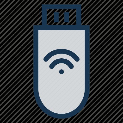 device, portable, stickdatawireless, storagememory, wifiportable icon
