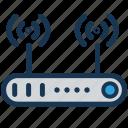 networkinternetwifi, routeriothubhome icon