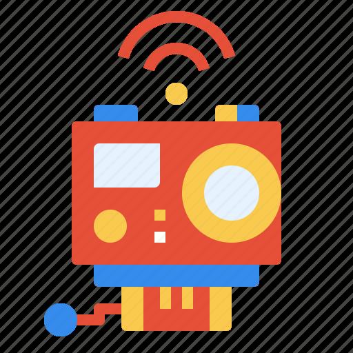 action, camera, internet, wifi, wireless icon