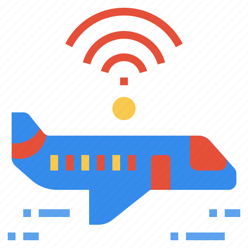 aeroplane, air, internet, plane, service, wireless icon