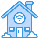 wireless, house, smart, control, internet, home, things