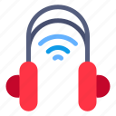 signal, headphone, wireless, wifi, phone, music