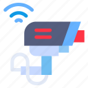 wifi, camera, iot, cctv, internet icon