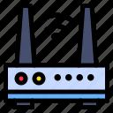 intelligent, lan, router, wifi, internet, wireless