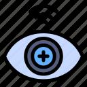 technology, biometric, data, scanner, eye