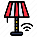 smart, light, commander, wifi, lamp icon
