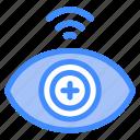 biometric, technology, eye, data, scanner