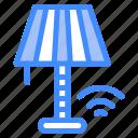 commander, wifi, lamp, smart, light icon