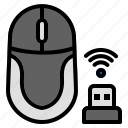 mouse, computer, cursor, device, wireless, signal, click