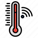 thermometer, temperature, weather, scale, thermal, tool, wireless