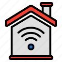 smart, home, connection, house, password, wifi, wireless