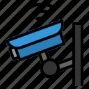 cctv, internet, iot, things, wifi icon