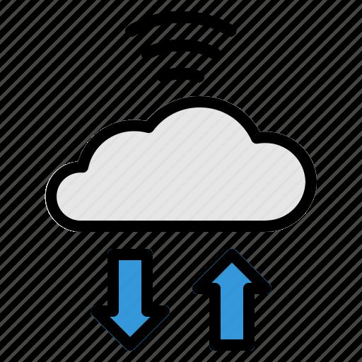 cloud, internet, iot, things, wifi icon