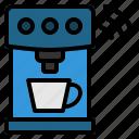 coffee, internet, iot, machine, wifi icon