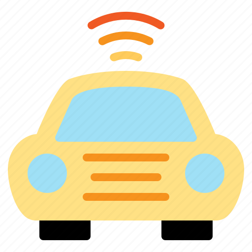 Car, internet, iot, things, wifi icon - Download on Iconfinder