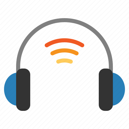 Headphone, internet, iot, things, wifi icon - Download on Iconfinder