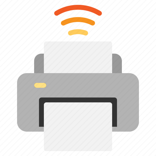 Internet, iot, printer, things, wifi icon - Download on Iconfinder