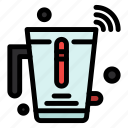 blender, internet, juice, mixer, wifi icon