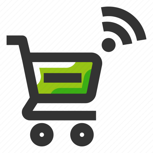 automation, ecommerce, purchase, shopping cart, smart shopping icon
