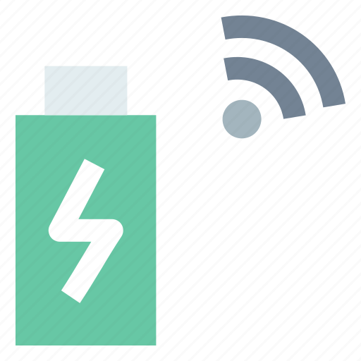communication, connectivity, internet of things, mobile phone, wireless charging icon