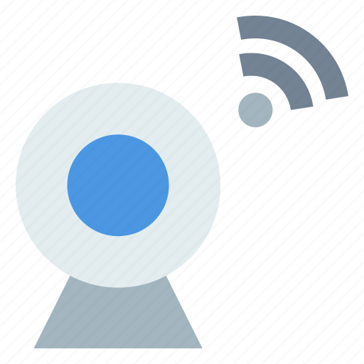 internet of things, iot, smart camera, wifi, wireles icon
