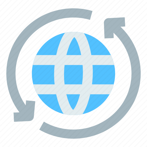 connectivity, global communication, global network, internet, web service icon