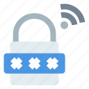 bank, digital locker, iot, safety, security icon