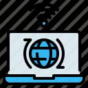 globe, internet, internet of things, laptop, wifi, wireless