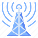 antenna, satellite, signal, tower icon