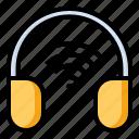 earphone, gadget, headphone, headset icon