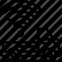 smart, truck, tech, iot, vehicle, transportation icon