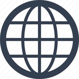 browse, connection, explore, globe, internet, planet, web icon