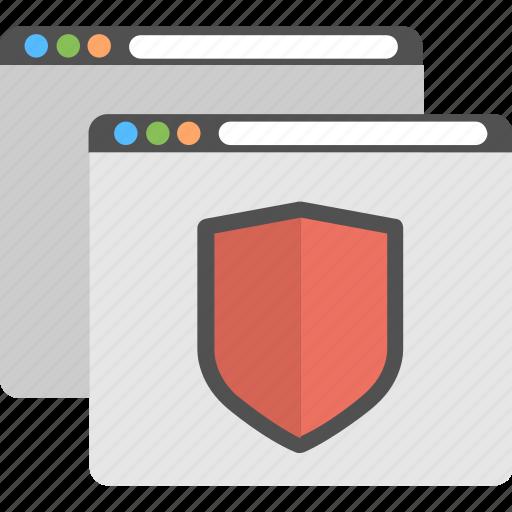 antivirus emblem, data security, information security, internet protection, shield logo icon