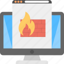 firewall protected, internet, internet security, network protection, secure server site icon