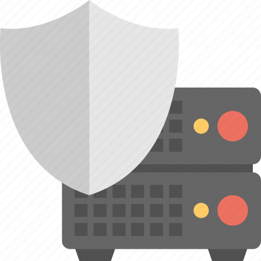 cyber protection, data security, shield security, system safety, technology shield icon