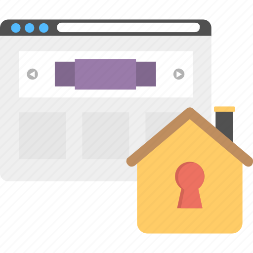 home page password, homepage security, internet protection, secure protection concept, ssl secured, web page security lock icon