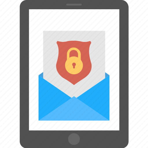 encrypted message, internet security, online smartphone app, password protection, secured mobile message icon