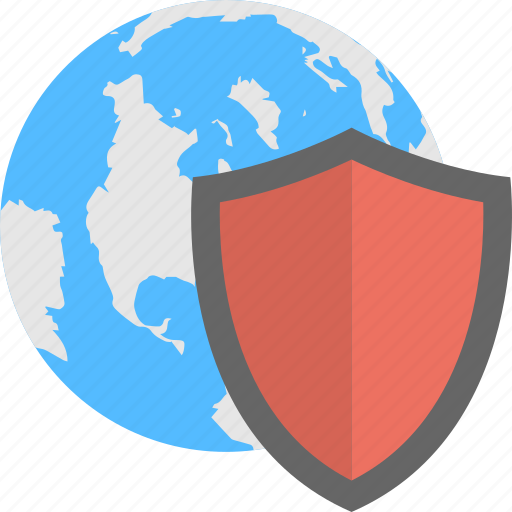 cyber security, global network protection, global security, international security icon