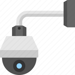cctv camera, outdoor security camera, security camera, security system, surveillance concept icon