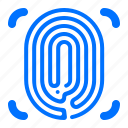 fingerprint, focus, security