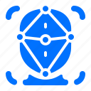 focus, internet, network icon