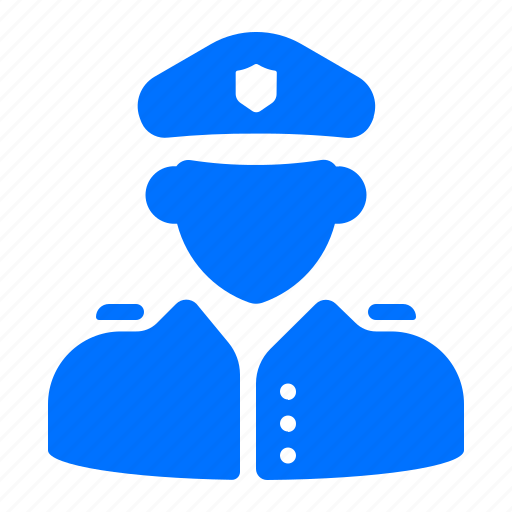 police, protection, security icon