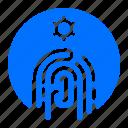 fingerprint, security, target